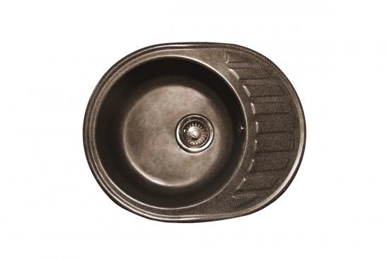 Раковина кухонная из гранита Меркури M-02