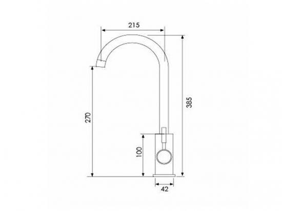 Смеситель кухонный ЕСВ-8013